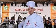 5. Uluslararası Edirne Bando Ve Ciğer Festivali Sona Erdi