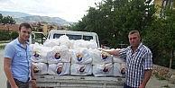 730 Aileye Gıda Yardımı