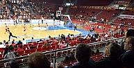 Abdullah Gül, Galatasaray Odeabank-abdullah Gül Üniversitesi Maçını İzledi