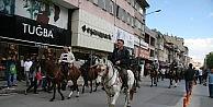 Afyonkarahisarda Türkçülük Günü Yürüyüşü