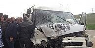 Ağrıda Trafik Kazası: 4 Yaralı