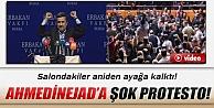 Ahmedinejada şok protesto!