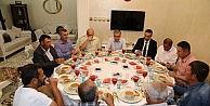 Akaray'da Gaziler İftarda Buluştu