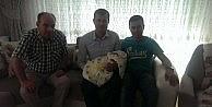 Akay'dan Kardeş Ailesine Tebrik Ziyareti
