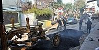 Akdeniz Belediyesinin Asfalt Çalişmalari Sürüyor