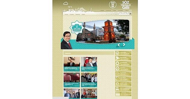 Aksaray Belediyesi'nin Web Sitesi Yenilendi