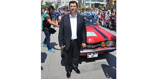 Aksaray'da Festival Klasik Araçların Rallisi İle Başladı