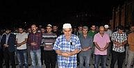 Aksarayda Uygur Türkleri İçin Gıyabi Cenaze Namazı