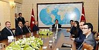 Ankara Kent Konseyi'nden Babacan'a Ziyaret