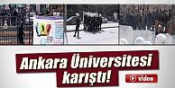 Ankara Üniversitesinde Olaylar Çıktı