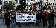 Antalya Halk Cephesinden DHKP-C Operasyonu Protestosu