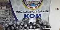 Antalyada 28 Kilo 200 Gram Esrar Ele Geçirildi