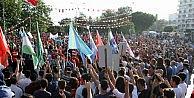 Antalyada Mehteranlı Türkçülük Günü Yürüyüşü