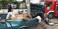 Antalyada Trafik Kazası: 1i Ağır 4 Yaralı