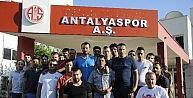 Antalyaspor Taraftarından Gencere Destek