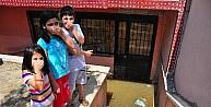 Apartmanı Kanalizasyon Suları Bastı