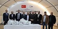 Askon'dan Suriyelilere Bin 500 Adet Gömlek Yardımı