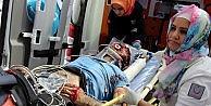 Av Tüfeği İle Başından Vurulan 1 Kişi Ağır Yaralandı