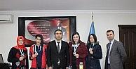 Avrupa Derecesi Yapan Öğrencilerden Müdüre Ziyaret