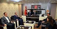 Bakan Kılıçtan, Ak Parti Konya İl Teşkilatına Ziyaret