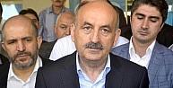 Bakan Müezzinoğlu Akşehir'de Hastanedeki Yaralıyı Ziyaret Etti