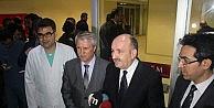 Bakan Müezzinoğlu, Yaralı Polisleri Ziyaret Etti