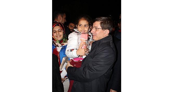 Başbakan Davutoğlu, Gül'ün Baba Ocağında