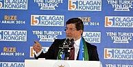 - Başbakan Davutoğlu Rize'de
