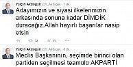 Başbakan Yardımcısı Yalçın Akdoğandan TBMM Başkanlık Seçimleri Hakkında Açıklama