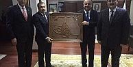 Başkan Babaş, Kırık Barajı'nı Bakan Eroğlu'na Arz Etti