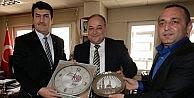 Başkan Dündar, Türk Metal Sendikasını Ziyaret Etti