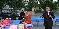 Başkan Köksoy'dan Yaz Kuran Kursu Öğrencilerine İftar Yemeği