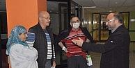 Başkan Üzülmez Hastaları Ziyaret Etti