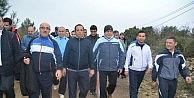 Başkanlar Sağlıklı Yaşam Yürüyüşünde Buluştular