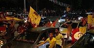 Batmanda Galatasaray Sevinci