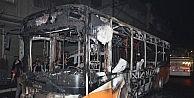 Belediye Otobüsüne Molotof Atıp Yaktılar