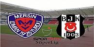 Beşiktaş Mersin İdmanyurdu'nu 1-0 mağlup etti İzle