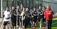 Beşiktaşta İstanbul Başakşehir Maçı Hazırlıkları Sürüyor