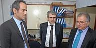Beü, Ösym Başkanı Ali Demir İle Yök Yürütme Kurulu Üyesi Durmuş Günay'ı Ağırladı