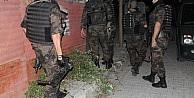 Bin Polisle Şafak Vakti Huzur Operasyonu