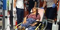 Bisikletin Çarptığı Yaya Yaralandı