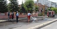 Bolvadin'de Caddelerinde Genel Temizlik