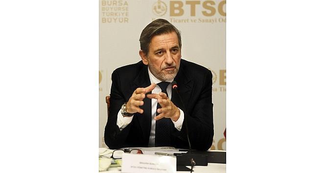 BTSO Yönetim Kurulu Başkanı Burkay: