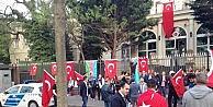 Budapeştede Türk Vatandaşları Ermenilerin Eylemi İçin TEK Vücut Oldu