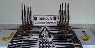 Burdurda Silah Ve Mühimmat Operasyonunda 24 Gözaltı