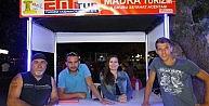 Burhaniye'de Tekne Turları İlgi Gördü