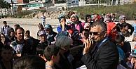 Bursa'da Veliler Okul Servisi İçin Eylem Yaptı