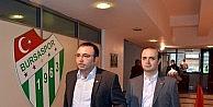 Bursasporda Cüneyt Özkan Listesini Teslim Etti