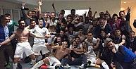 Bursasporlu Futbolcular Fenerbahçe Zaferini Böyle Kutladı