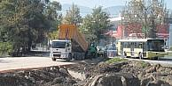 Buttim Kavşağı'nda İnşaat Başladı, İstanbul Yolu Rahat Nefes Alacak